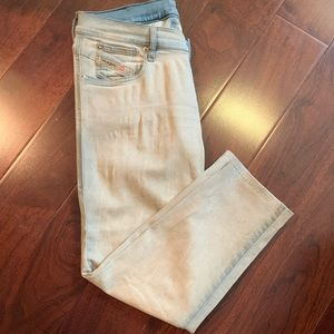 Diesel Jeans - Diesel Getlegg Slim Skinny Low Waist Jeans